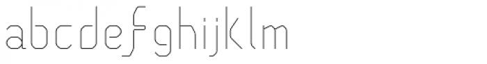Pied de Poule Light Font LOWERCASE