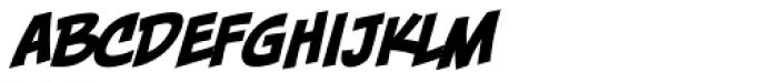 Piekos FX Basic BB Italic Font UPPERCASE