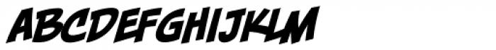 Piekos FX Basic BB Italic Font LOWERCASE
