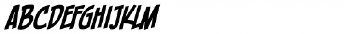 Piekos FX Condensed BB Italic Font LOWERCASE