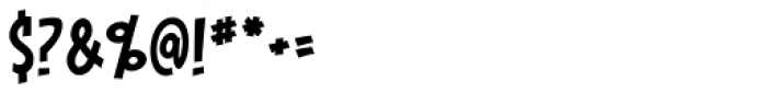Piekos FX Condensed BB Font OTHER CHARS