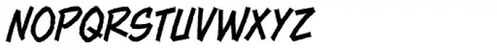 Piekos FX Rough Thin BB Font UPPERCASE