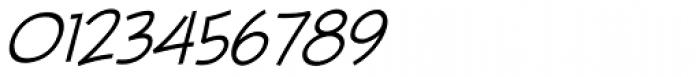 Piekos FX Thin BB Italic Font OTHER CHARS