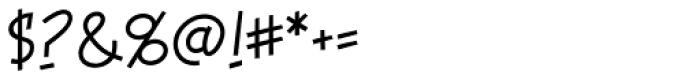 Piekos FX Thin BB Font OTHER CHARS