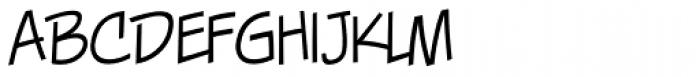 Piekos FX Thin BB Font LOWERCASE