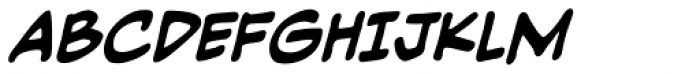 Piekos Professional BB Bold Italic Font UPPERCASE