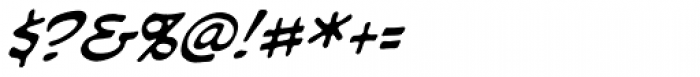 Piekos Professional BB Italic Font OTHER CHARS