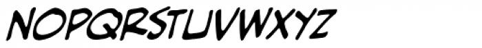 Piekos Professional BB Italic Font UPPERCASE