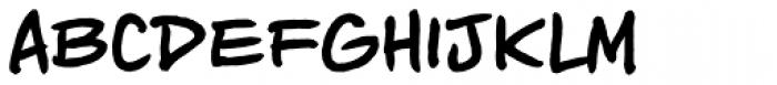 Piekos Toons BB Bold Font LOWERCASE