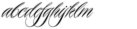 Piel Script Font LOWERCASE