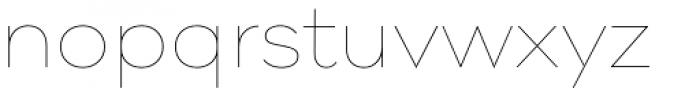 Pieta Hairline Font LOWERCASE