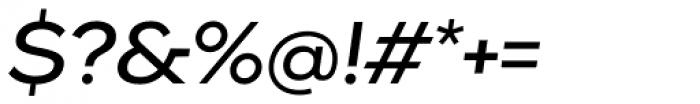 Pieta Italic Font OTHER CHARS