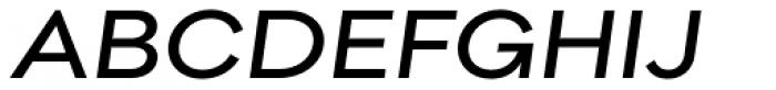 Pieta Italic Font UPPERCASE