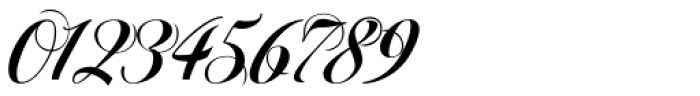 Pigalle Swing Font OTHER CHARS