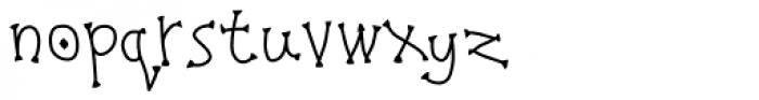 Pigeonpie Claw Bold Font LOWERCASE