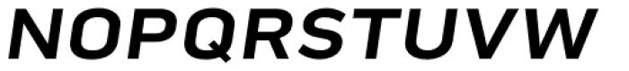Pill Gothic 900mg Bold Obliq Font UPPERCASE