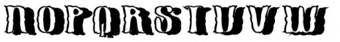 Pillow Talk Black Font UPPERCASE