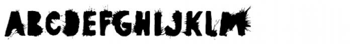 Pimba Font UPPERCASE