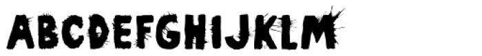 Pimba Font LOWERCASE