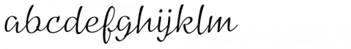 Pinala Light Font LOWERCASE
