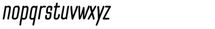Pinatas Cottons Medium Italic Font LOWERCASE