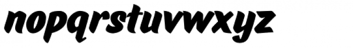 Pinatas Marks Black Font LOWERCASE