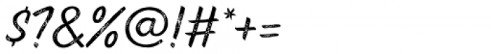 Pinatas Marks Rough Medium Font OTHER CHARS