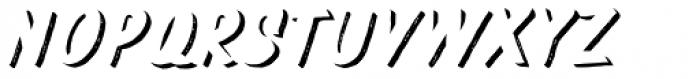 Pinatas Marks Rough Shadow ExtraBold Font UPPERCASE