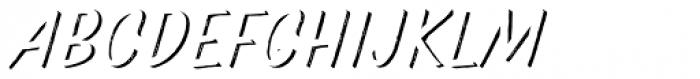 Pinatas Marks Rough Shadow Medium Font UPPERCASE