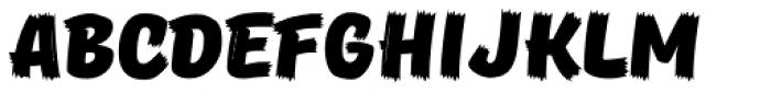Pinatas Masters Birds Black Font UPPERCASE
