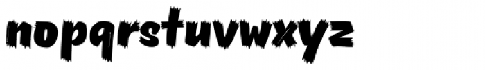 Pinatas Masters Birds Black Font LOWERCASE