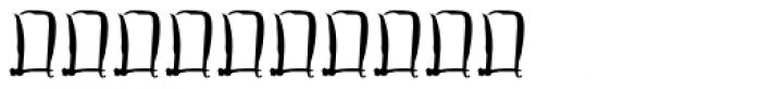Pincel Dingbats 1 Font OTHER CHARS