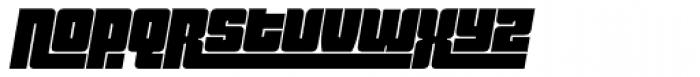 Pincoya Black Pro Italic Font LOWERCASE