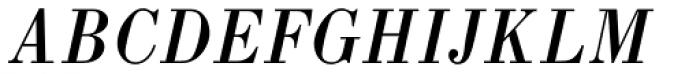 Pinel Italic Font UPPERCASE