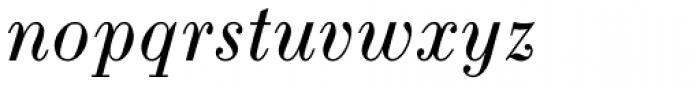 Pinel Italic Font LOWERCASE