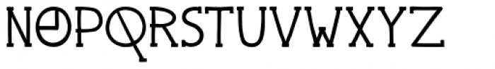 Pingo Font UPPERCASE