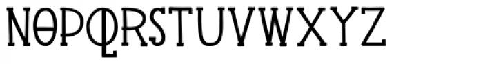 Pingo Font LOWERCASE