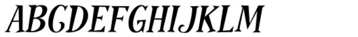 Pink Martini Bold Italic Font UPPERCASE
