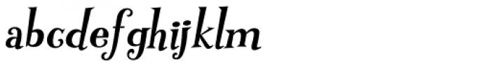 Pink Martini Bold Italic Font LOWERCASE
