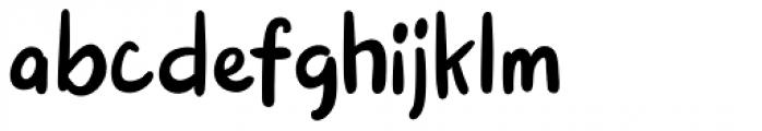 Pink Shark Regular Font LOWERCASE