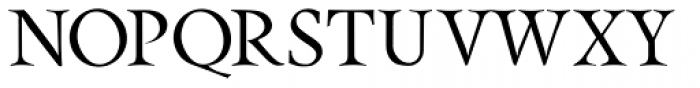 Pinnacle JY Pro Font UPPERCASE