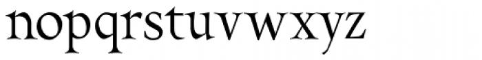 Pinnacle JY Pro Font LOWERCASE