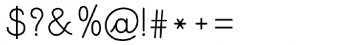 Pinocchio Scribe Regular Font OTHER CHARS
