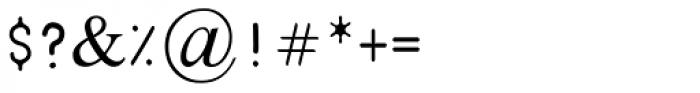 Pinochio Medium MF Font OTHER CHARS