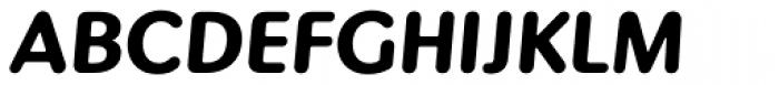 Pinot Grigio Modern Bold Italic Font UPPERCASE