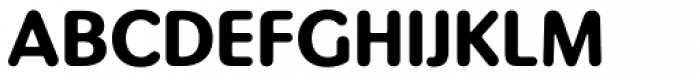 Pinot Grigio Modern Bold Font UPPERCASE