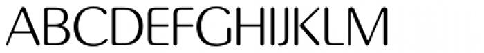 Pinot Grigio Modern Light Font UPPERCASE