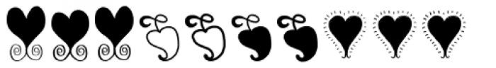 Pinto NO_05 Symbols Font LOWERCASE