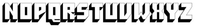 Pioneer Pro Regular Font UPPERCASE