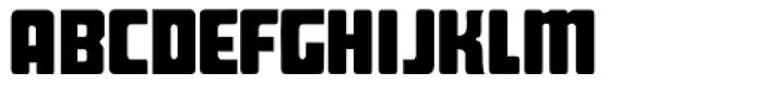 Pippen Regular Font UPPERCASE